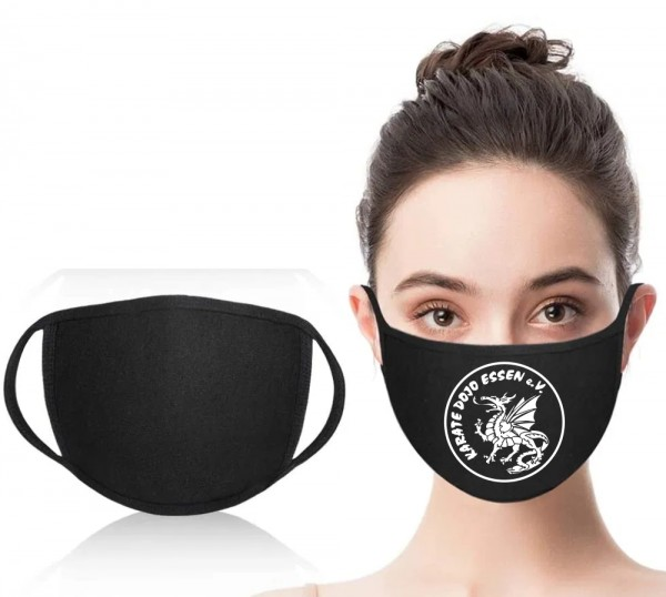 Mund-Nasen-Maske mit Vereinslogo
